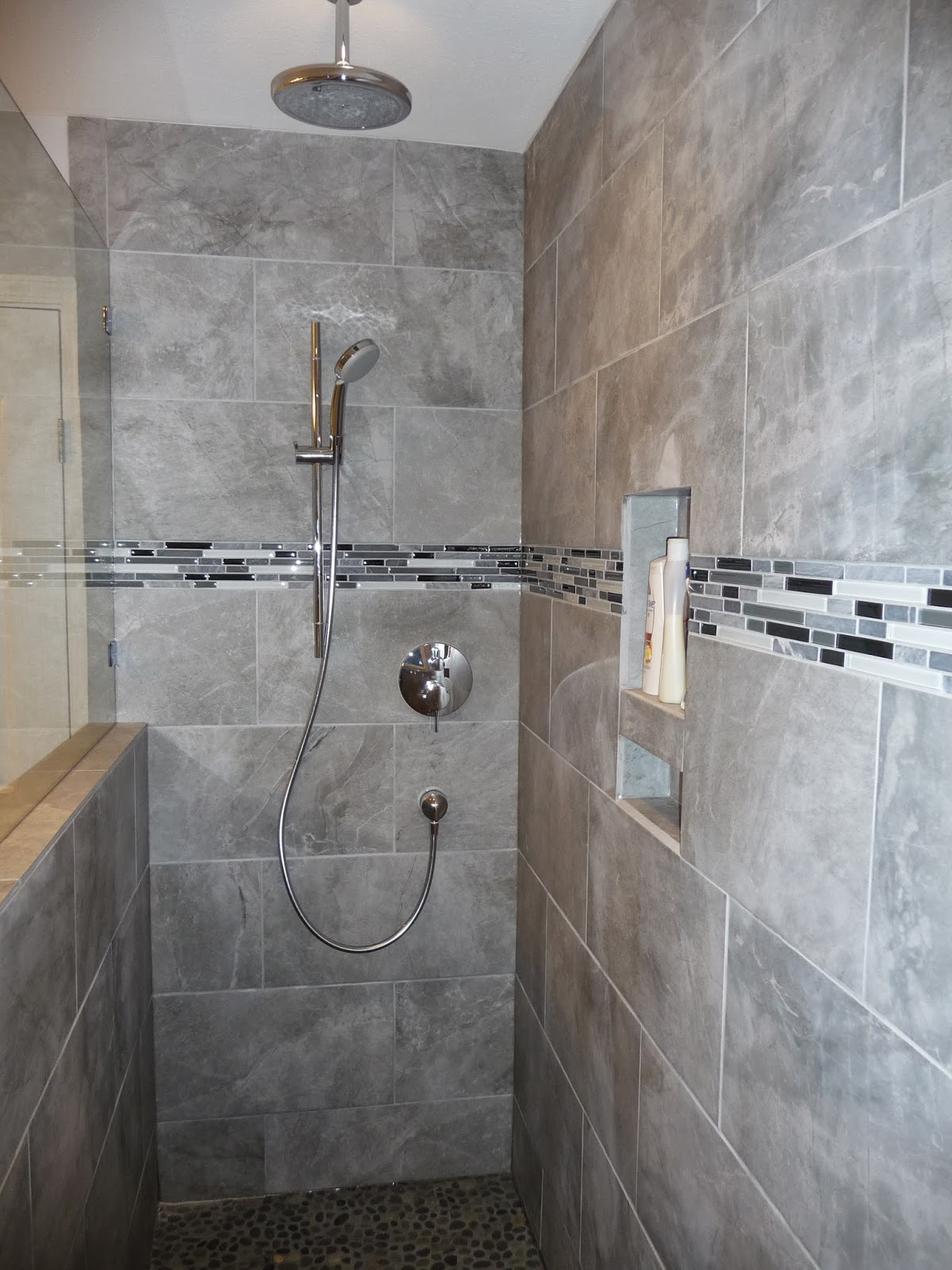 ceiling rain shower head with handheld. After THE HANDY  DON Handyman Services Master Ensuite Renovation