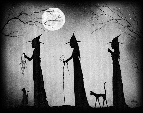 What Is One Popular Belief About Black Cats And Witches