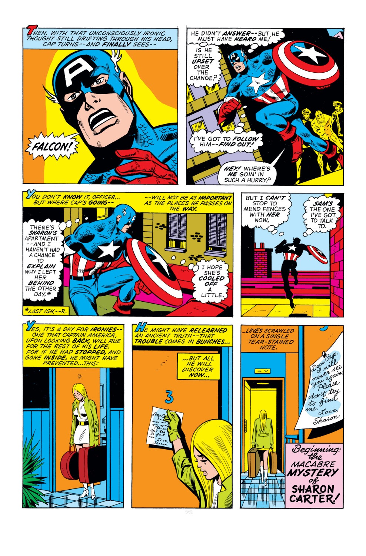 Captain America (1968) Issue #160 #74 - English 21