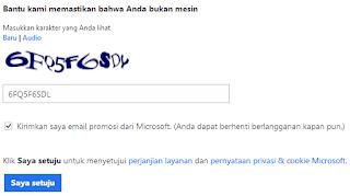 Cara mendaftar email microsoft