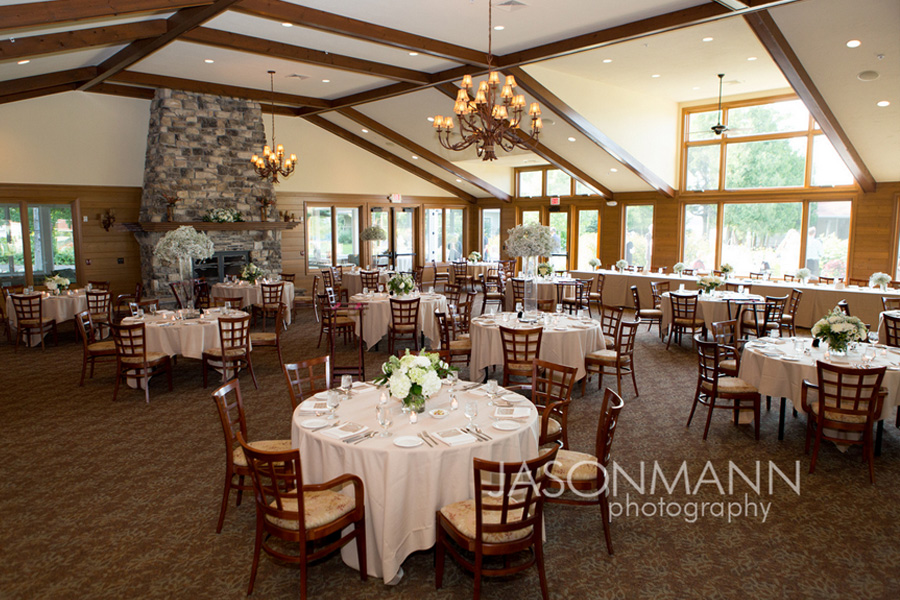 Door County wedding reception at the Gordon Lodge event center. Photo by Jason Mann Photography, 920-246-8106, www.jmannphoto.com