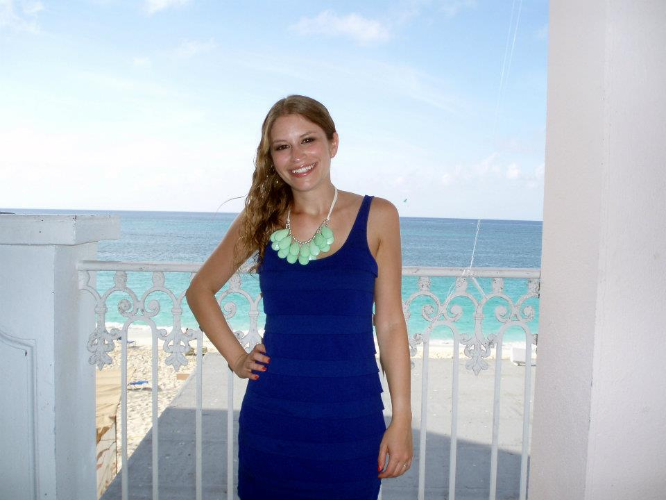 The tiny heart bahamas destination wedding for Destination wedding dresses for guests