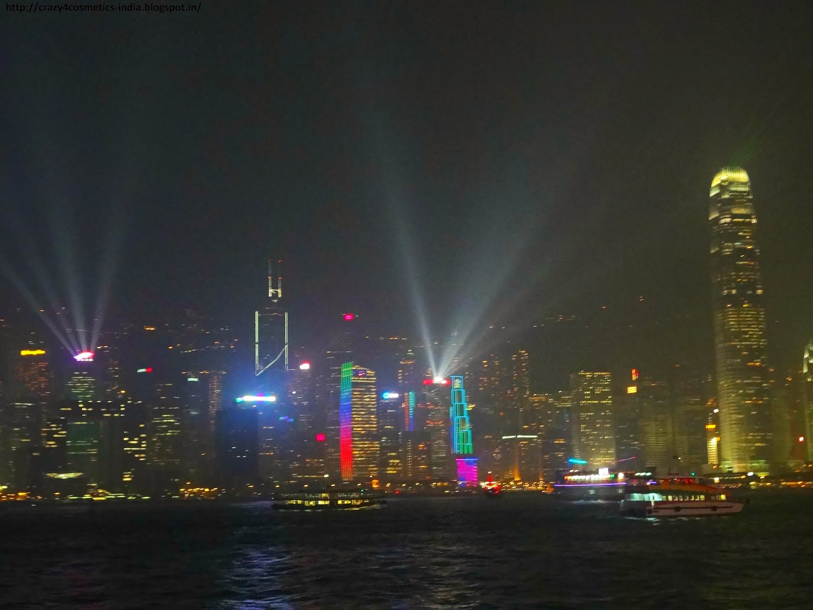 Symphony of Lights Hongkong best spot