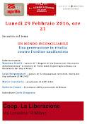 29 febbraio 2016, Milano, via Lomellina, ore 21,00