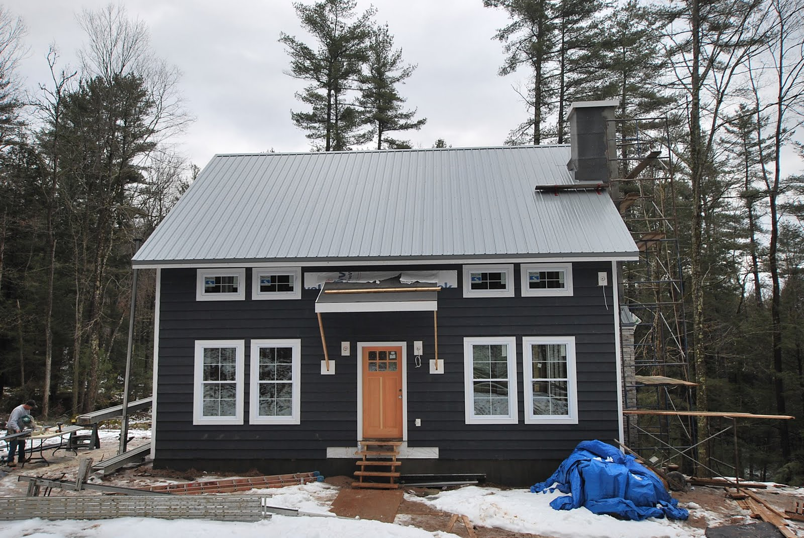Sullivan county ulster county real estate catskill for Tin roof house