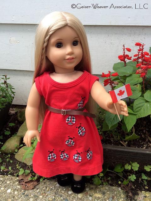 Canada Day outfit by Geiser-Weaver Associates, LLC