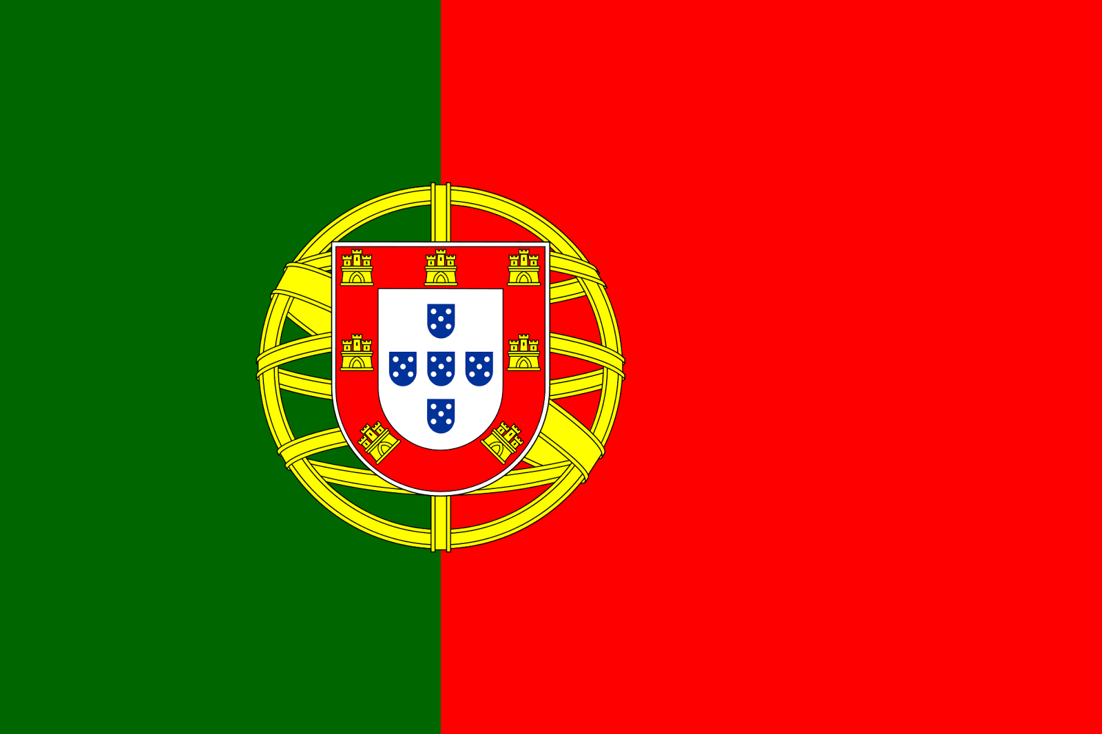 Flag of portugal coloring page for Portugal flag coloring page