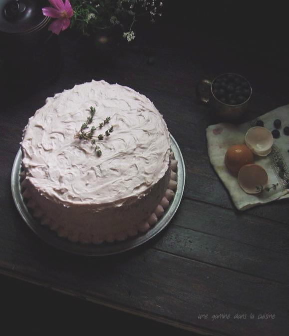 tangled up in blue, High Rise cake   une gamine dans la cuisine