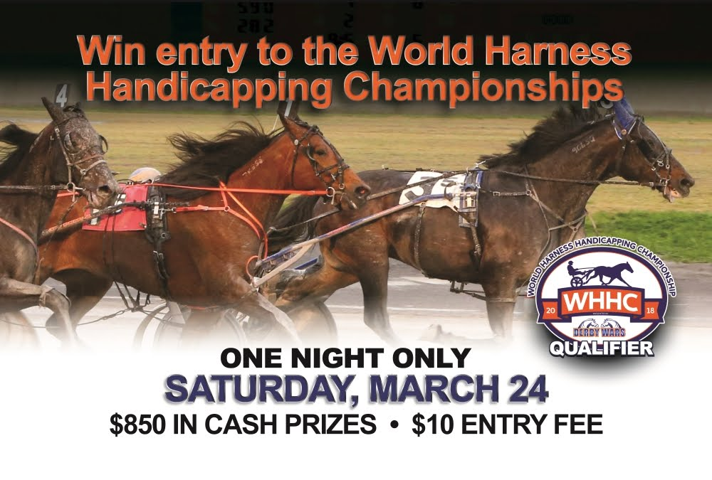 Handicapping Contest on March 24th