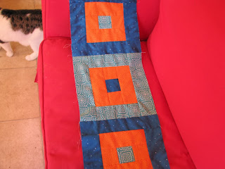 start of Sieuwke's quilt