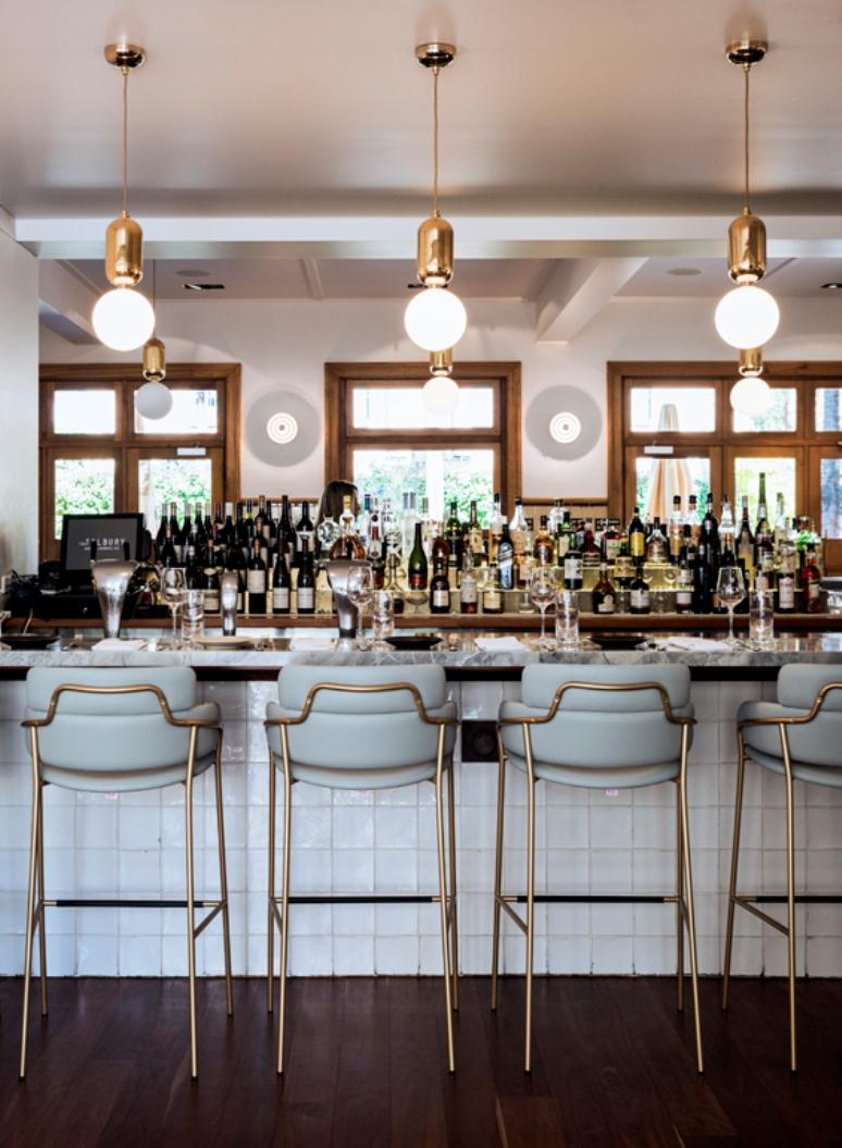 [Negocios bonitos] Un elegante bar restaurante de un hotel en Australia