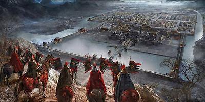 Tính năng nổi trội nhất của game chiến thuật Mộc Đế là hệ thống chiến trường rộng lớn