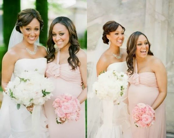pink maternity bridesmaids dresses