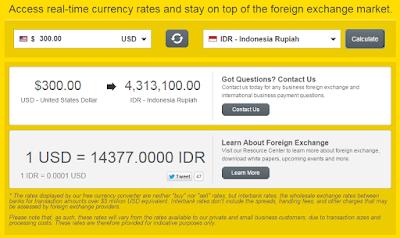 Chek pendapatan total di Western Union