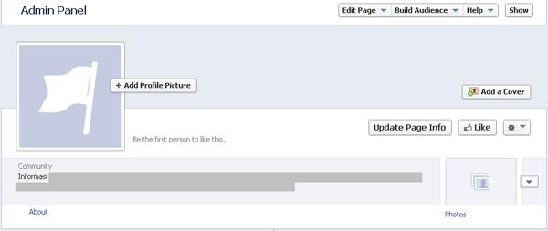 Cara Membuat Fans Page Facebook Selesai