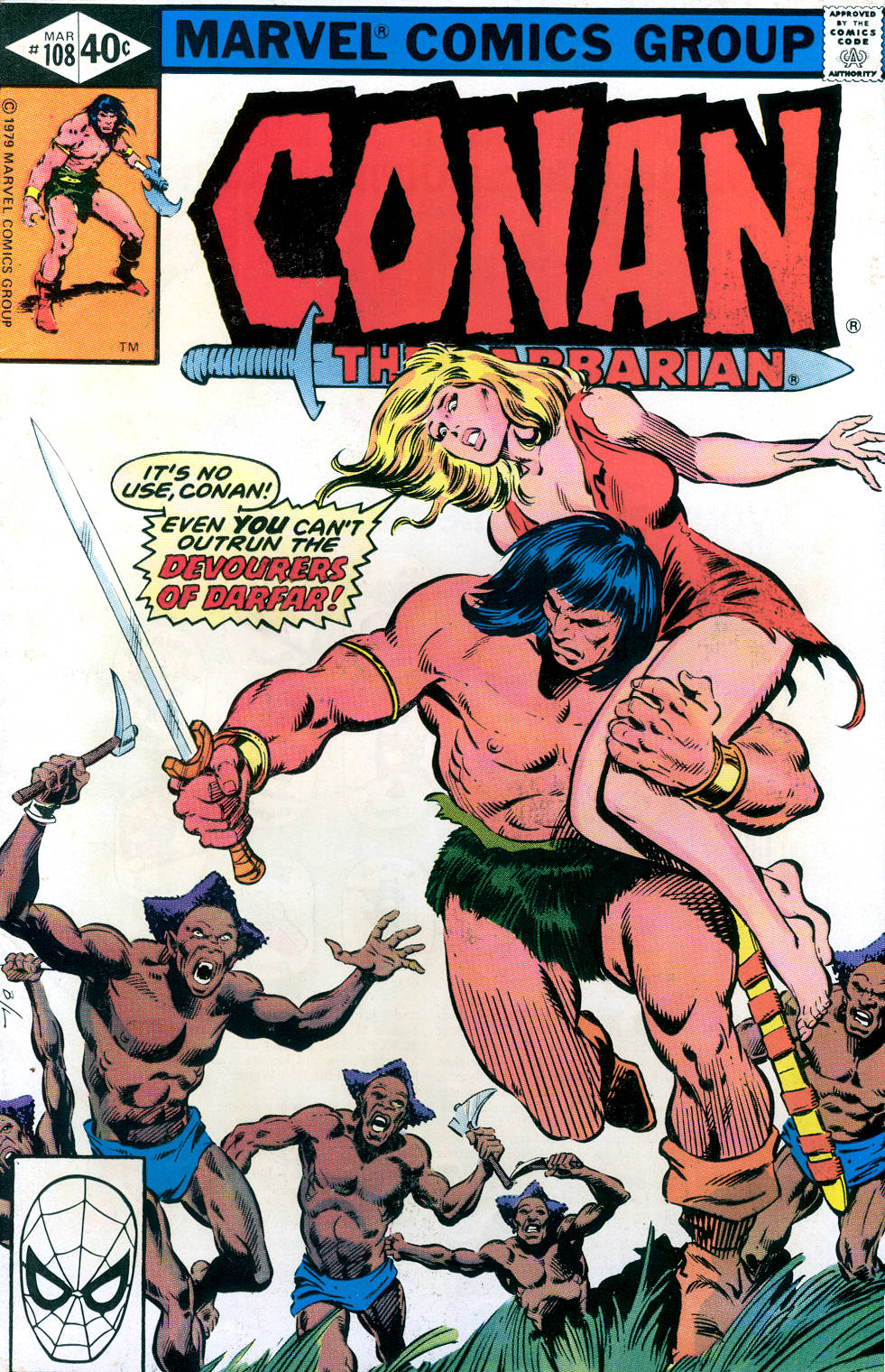 Conan the Barbarian (1970) Issue #108 #120 - English 1