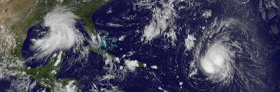 Nichts Neues bei Hurrikan KATIA - für Vorschau US-Ostküste noch zu früh, Katia, Hurrikanfotos, Satellitenbild Satellitenbilder, Lee, US-Ostküste Eastcoast, aktuell, September, 2011, Hurrikansaison 2011, Verlauf, Vorhersage Forecast Prognose,