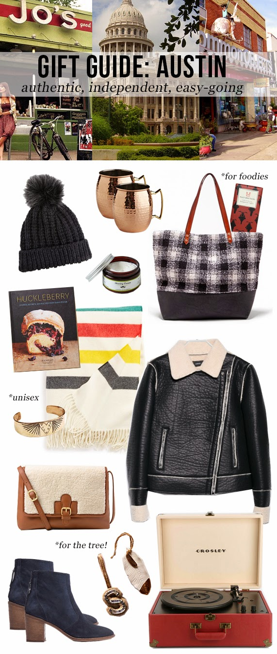 The Steele Maiden: Holiday Gift Guide - Austin Texas Style