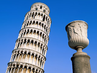Leaning Tower, Pisa, Italy Stock Images