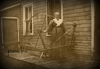 at the house spinning