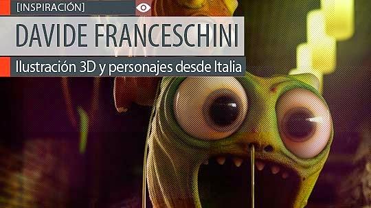 Ilustración 3D y personajes de DAVIDE FRANCESCHINI