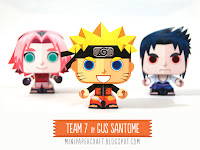 Naruto and the team 7