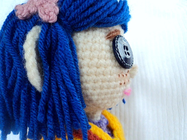 My Homemade Coraline Dolls ~ Amigurumi To Go