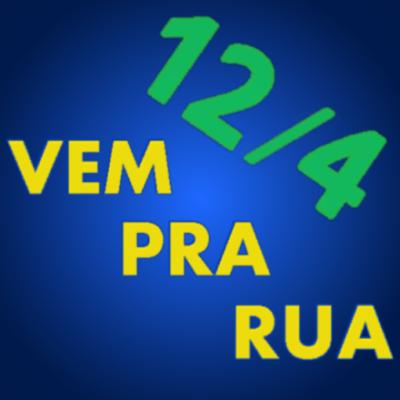 avatar vem pra rua azul verde e amarelo Brasil