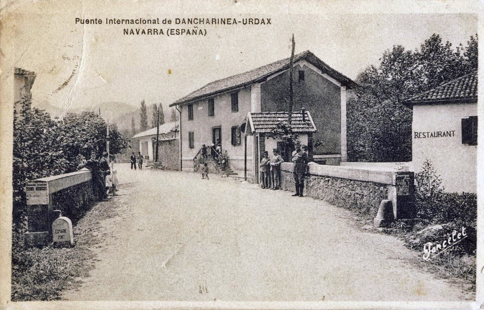 Puente Internacional de Dancharinea-Urdax