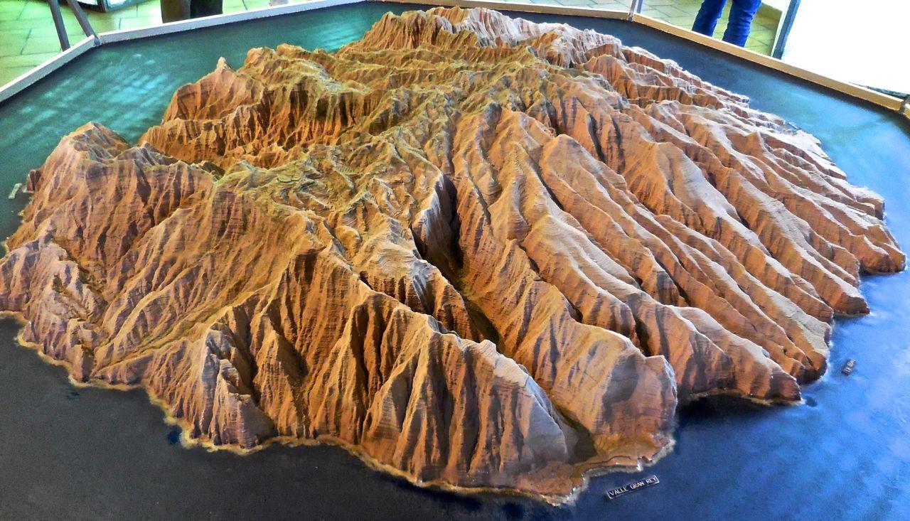 LA GOMERA ISLAND Canary Islands 3D model of La Gomera