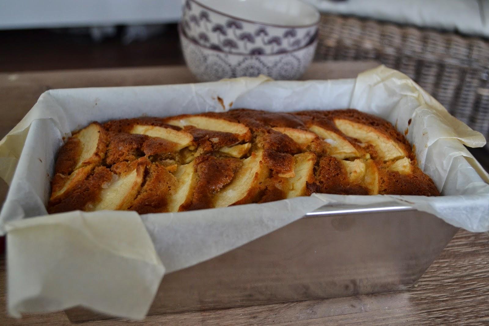 cake, pomme, fondant, cannelle, miel