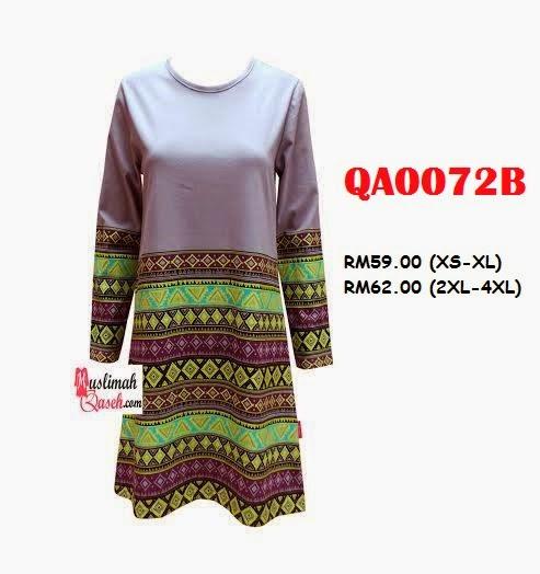 T-Shirt-Muslimah-Qaseh-QA0072B