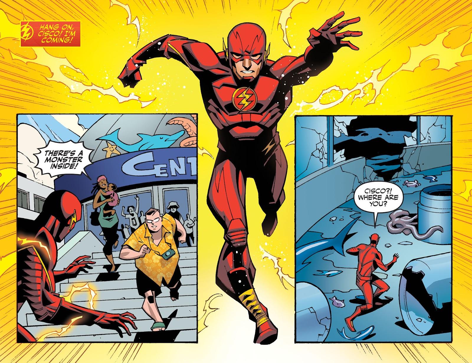 The Flash: Season Zero [I] Issue #12 #12 - English 19