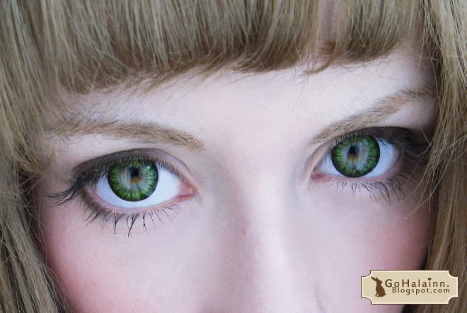 ColourVUE BigEyes Circle Lenses Green Review