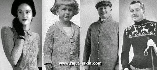pakaian rajut tahun jadul 1960 an