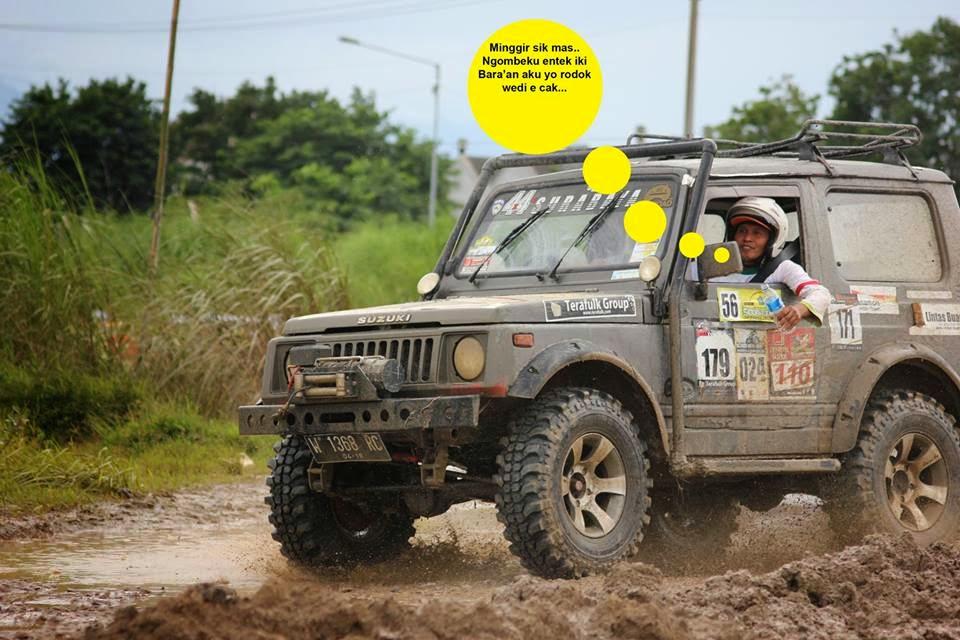 4x4 Surabaya menjuarai SS1 Sprint Relly kelas jeep