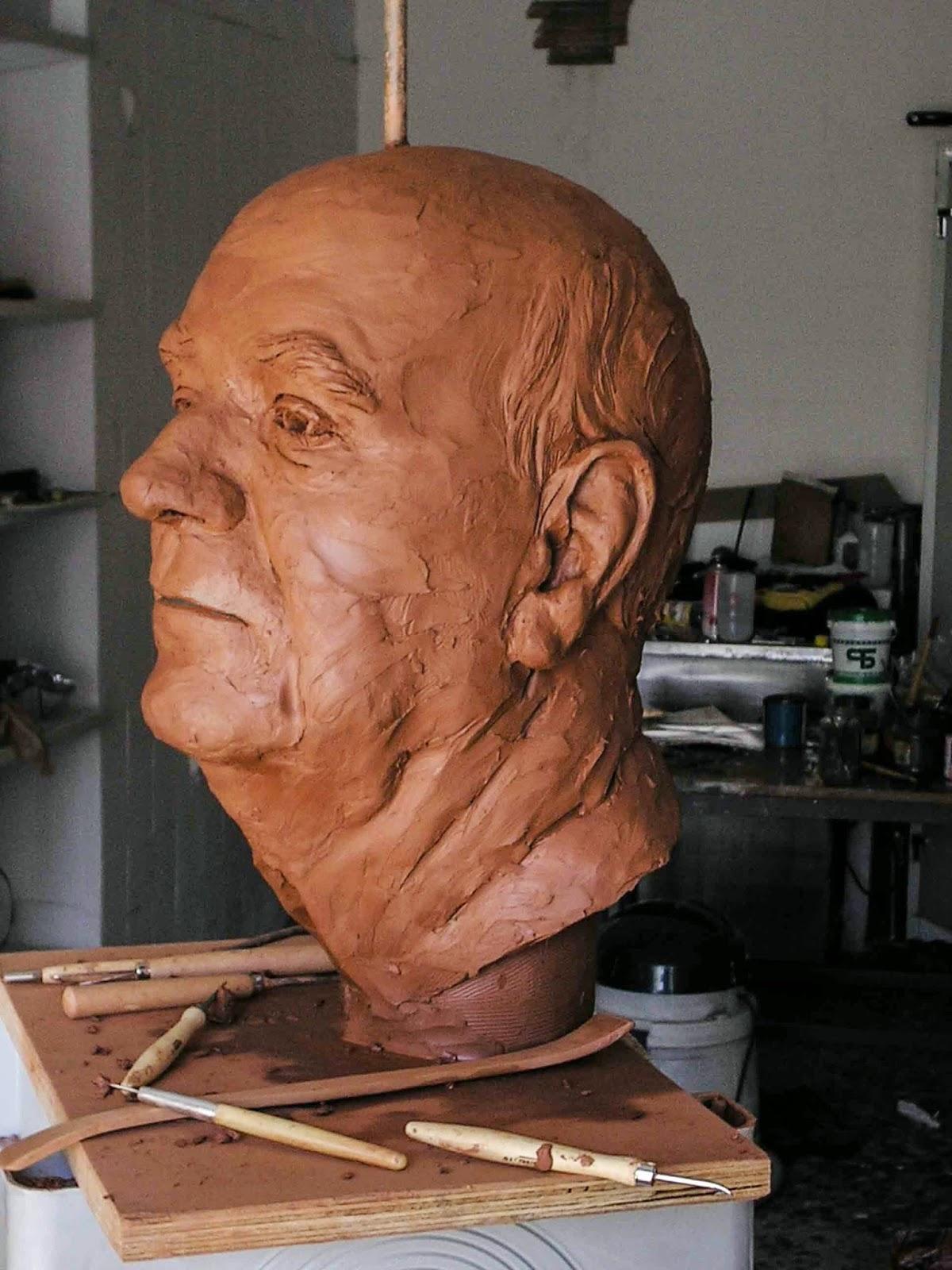 Monumento bronce Fuente Álamo Murcia Arturo Serra escultura 8