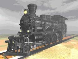 O primeiro comboio