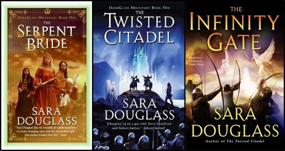 Dark Glass Mountain Trilogy By Sara Douglass