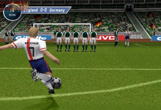 David Beckham Soccer Cheats game ps2