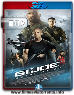 G.I. Joe: Retaliação Torrent - BluRay Rip 1080p 3D HSBS Legendado (2013)