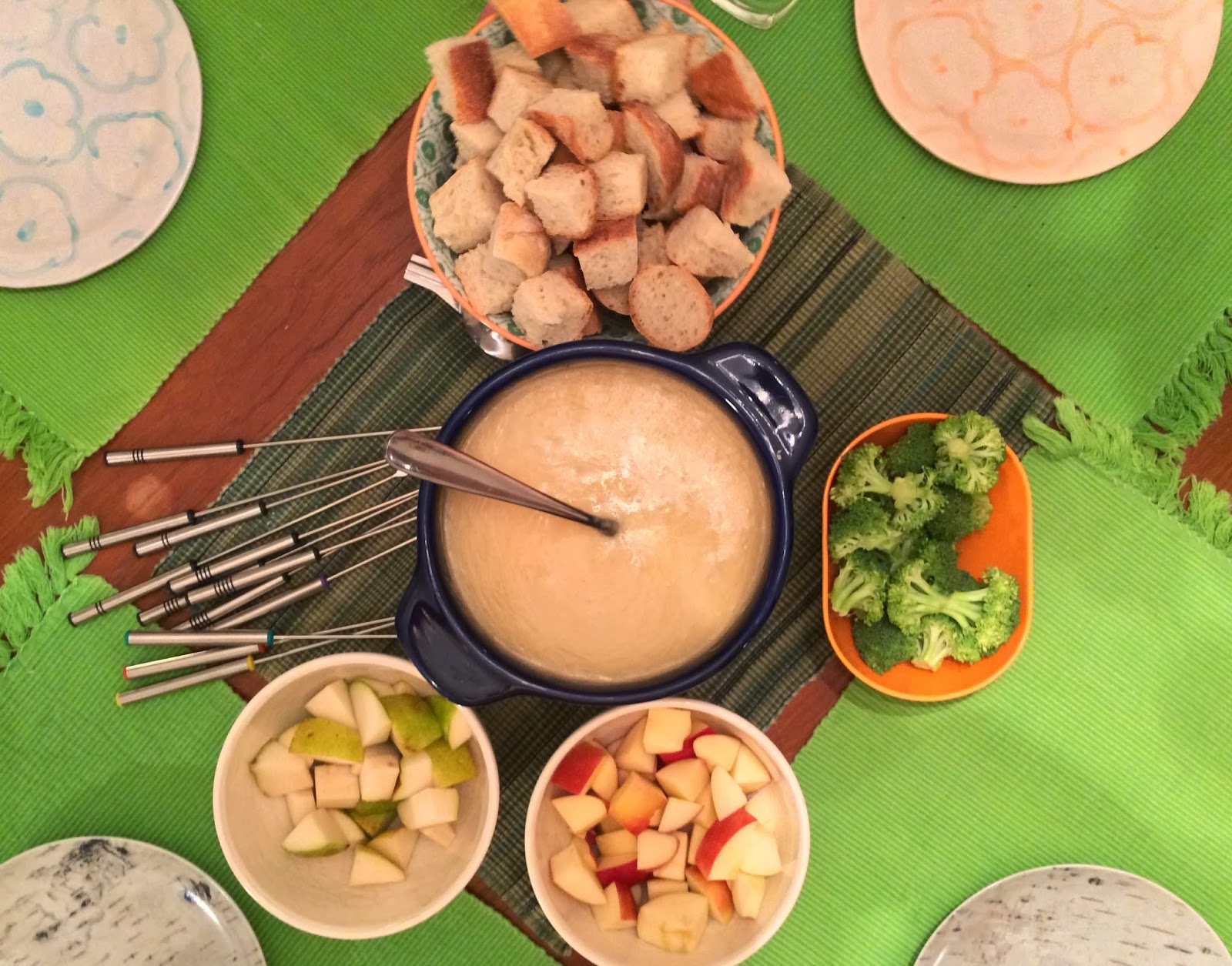 Authentic Cheese Fondue