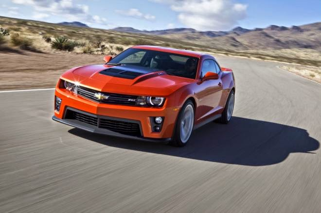 NHTSA Awards 2015 Chevy Camaro 5-Star Safety Rating