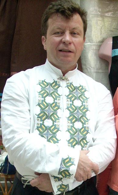 Чоловіка сорочка, автор Ярина Жук, стиль український етномодерн