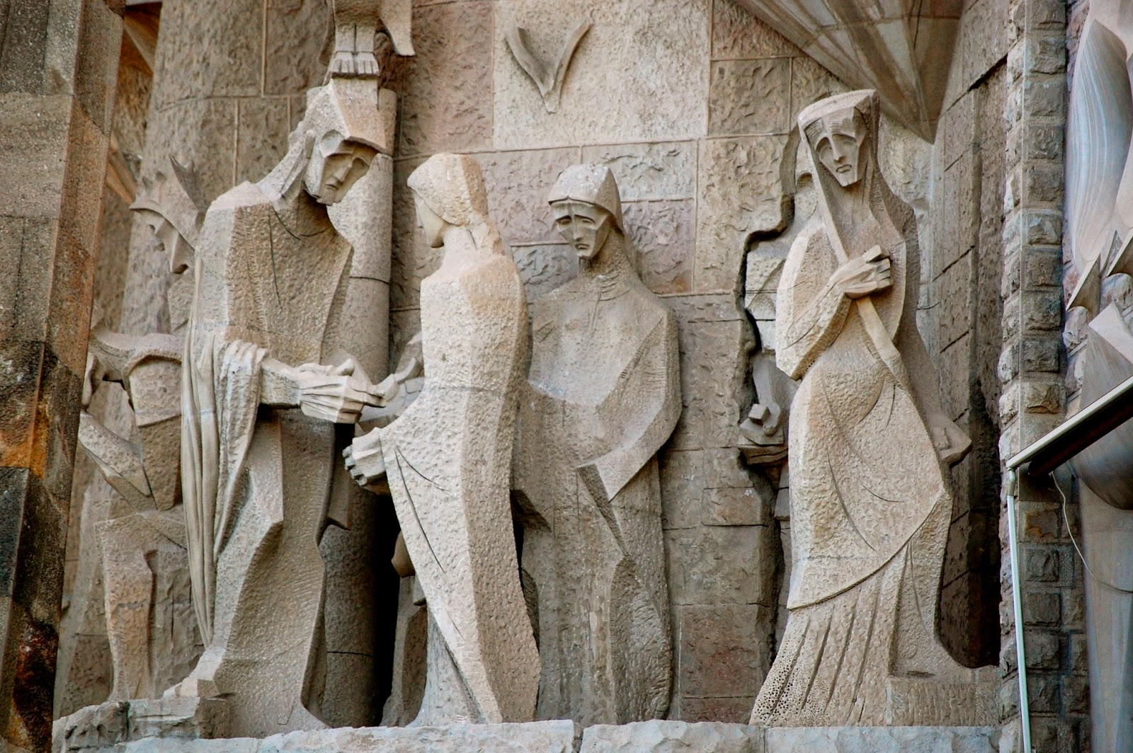 Carving of Pontius Pilate washing his hands