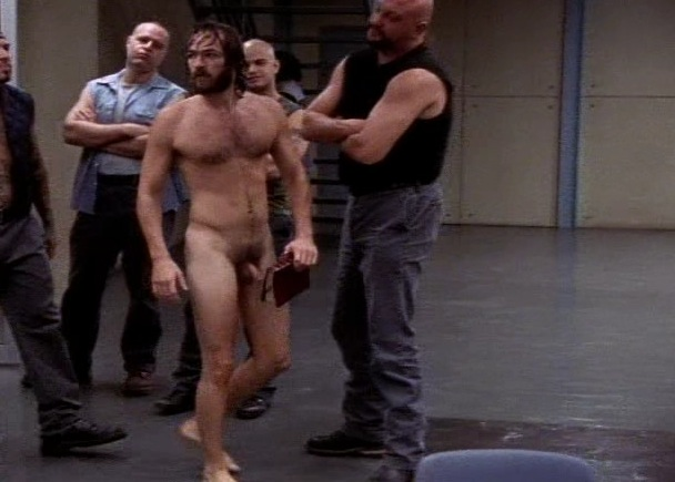 Oz hbo naked right!