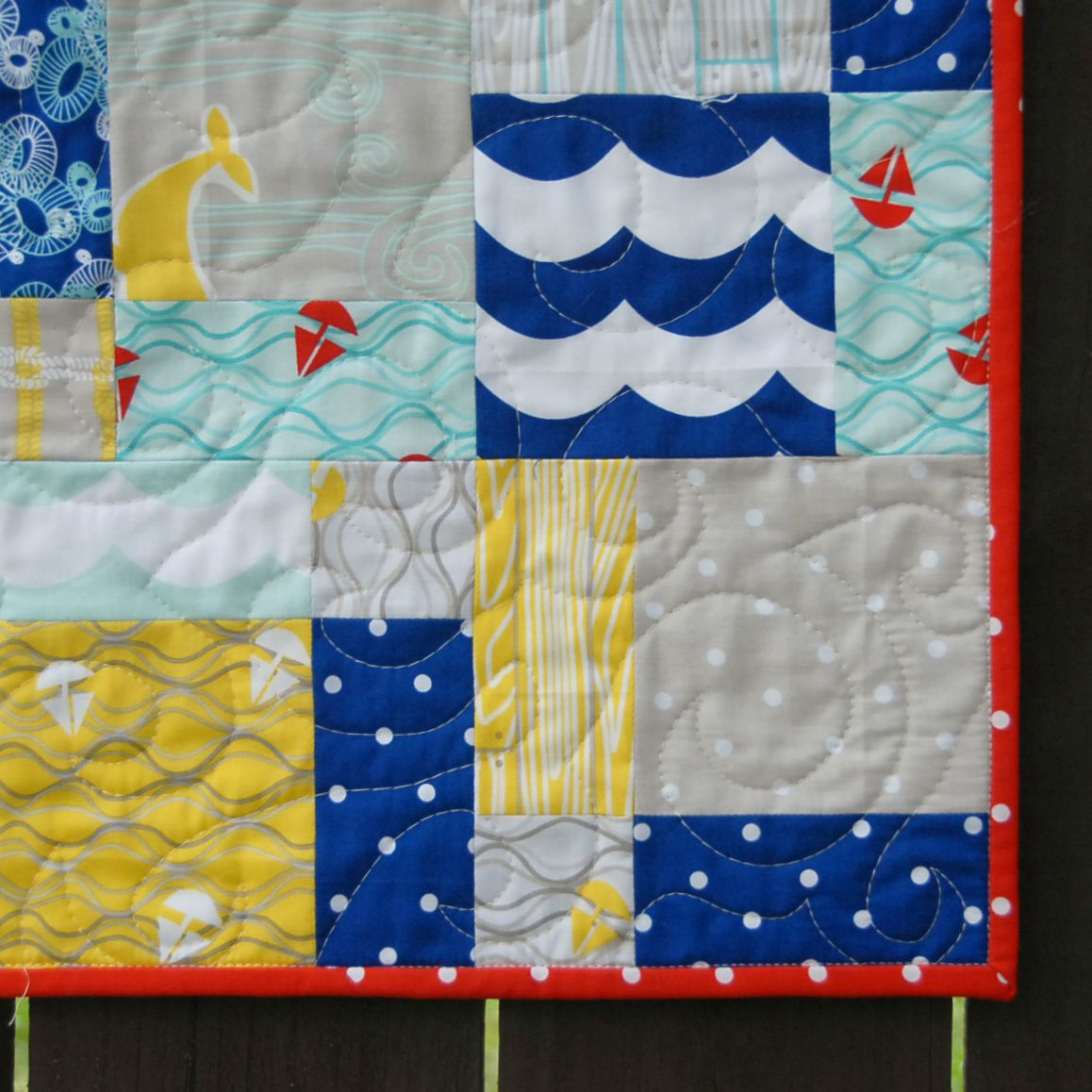 Quick and Easy Charm Square Baby Quilt