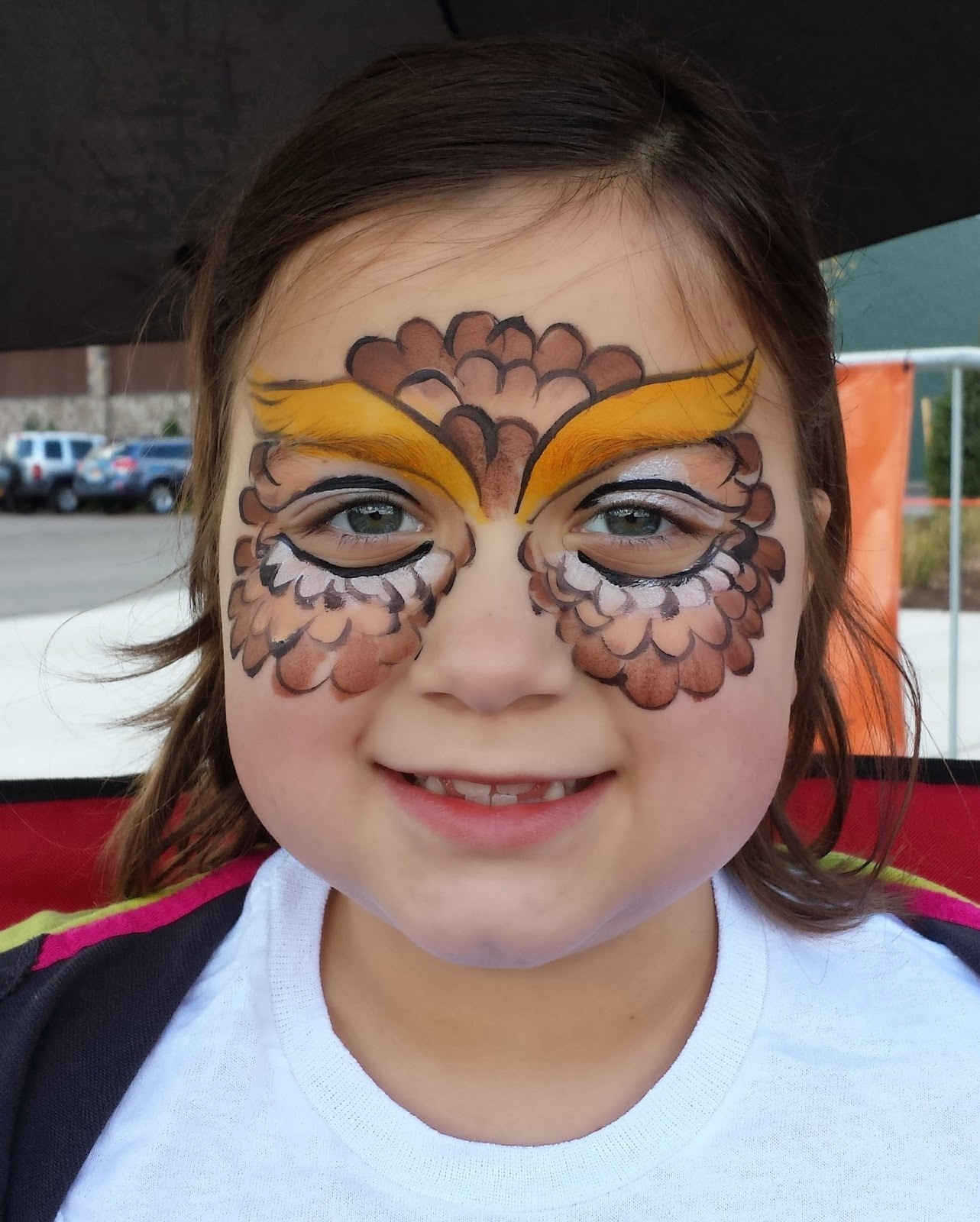 fancy faces of rochester face painting at the new field stream store grand opening. Black Bedroom Furniture Sets. Home Design Ideas