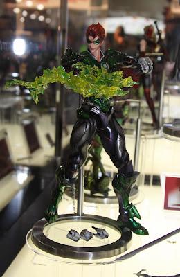 Square Enix Play Arts 2013 Toy Fair Display - DC Universe Green Lantern figure