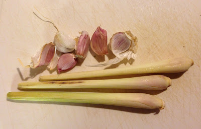 garlic and lemongrass
